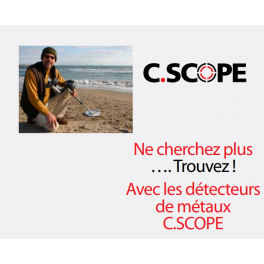 Détecteur de métaux C.SCOPE