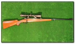 Carabine Mauser 98 Calibre 8x64S avec lunette