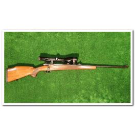 Carabine Voere 98 Cal. 7X64 avec lunette Zeiss